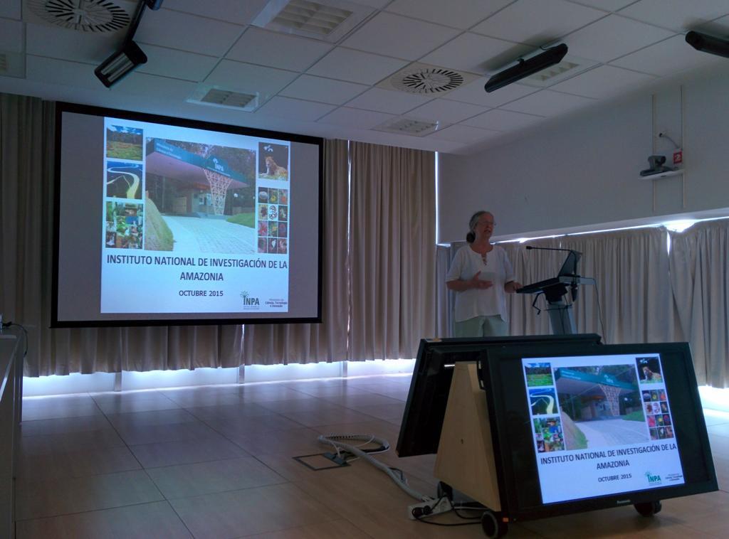Aspectos generales del INPA (Instituto Nacional de Pesquisas en la Amazonía) y el LBA (Large scale biosphere-atmosphere experiment in the Amazon) y posibles colaboraciones con la UGR.