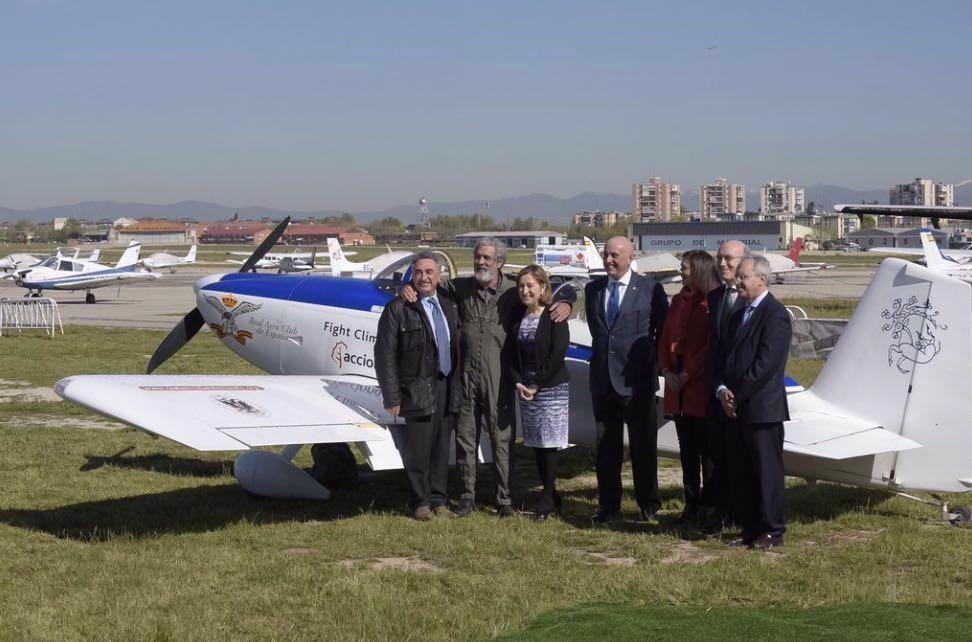 Noticia 6. SkyPolaris: Finalizada con éxito la primera fase de la vuelta al mundo por los polos en busca de un aire más limpio